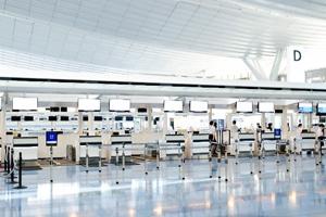 空港や新幹線の駅の近くのペットホテルを利用する